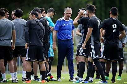 باشگاه خبرنگاران -آخرین تمرین تیم ملی فوتبال قبل از سفر به سارانسک
