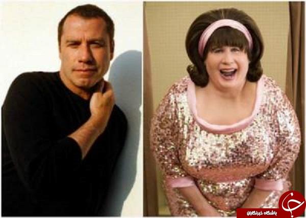 گریم های باورنکردنی بازیگران مشهور هالیوود +تصاویر