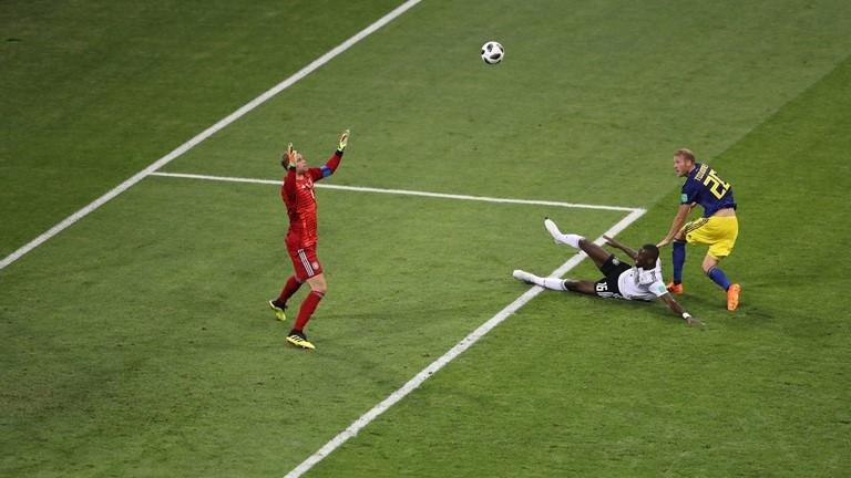 نتیجه لحظه به لحظه/ آلمان 0 - سوئد 1