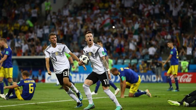نتیجه لحظه به لحظه/ آلمان 1 - سوئد 1
