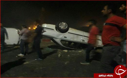 حادثه دلخراش در سنندج/آمار کشتههای حادثه تصادف سنندج به ۱۱ نفر رسید
