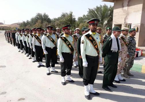 پیکر شهیدای گلگون کفن دوران دفاع مقدس وارد کشور شد + تصاویر