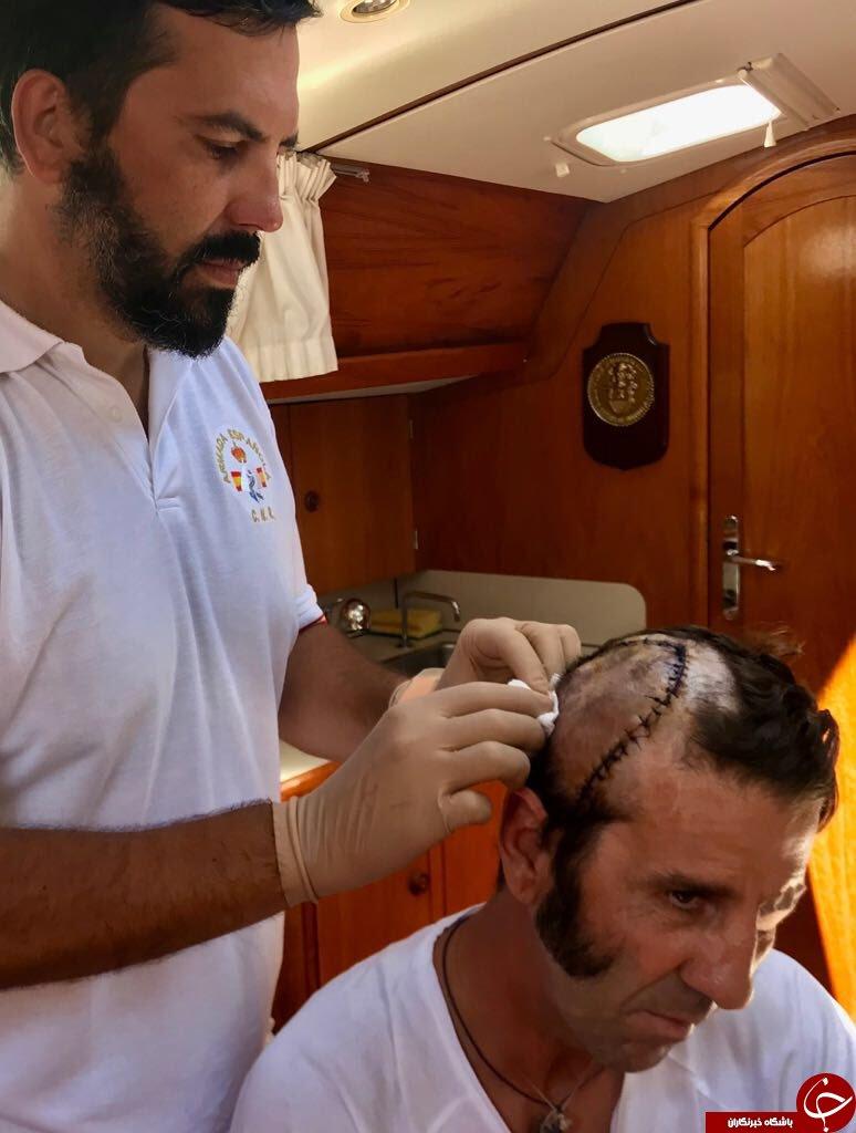 لحظه زخمی شدن شدید گاوباز مشهور اسپانیایی / فیلم + عکس