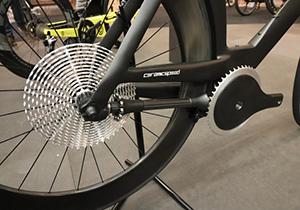 دوچرخه بدون زنجیر به بازار آمد + فیلم