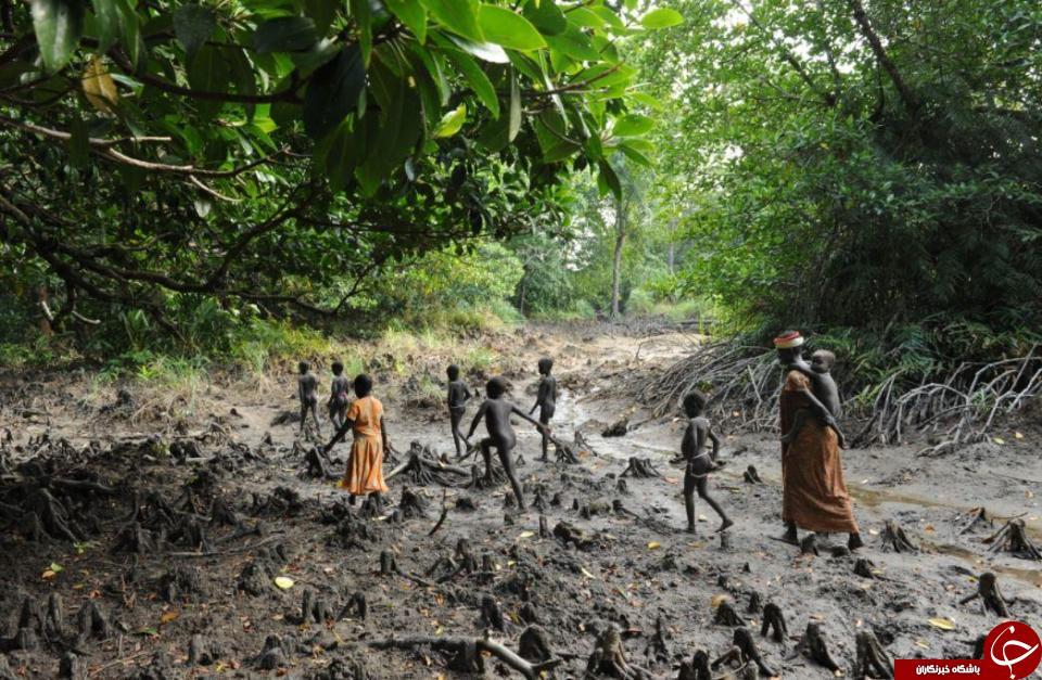 تصاویری جالب از قبیله دورافتاده در اقیانوس هند