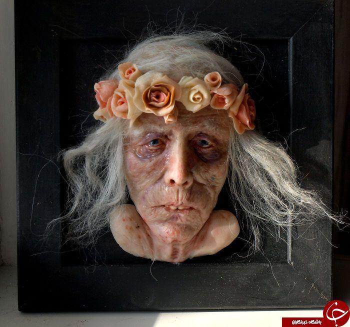 مهارت خارق العاده هنرمند اوکراینی در ساخت مجسمههای فرا واقعی+تصاویر