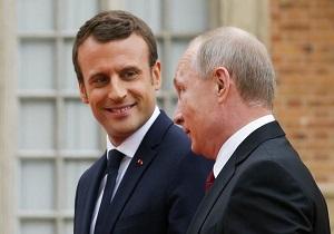احتمال دیدار پوتین و مکرون در فینال جام جهانی