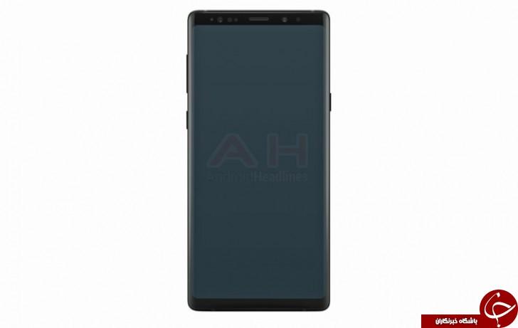 رندر گوشی Galaxy Note 9 سامسونگ را ببینید +تصویر
