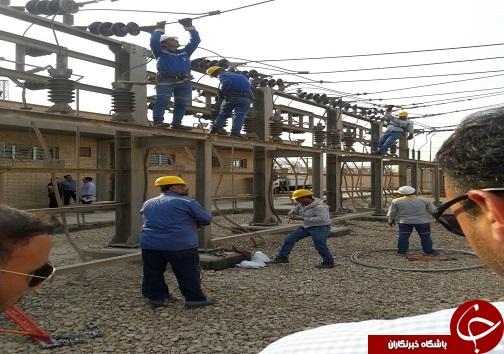 آسیب به شبکه توزیع برق در گرمای هوا