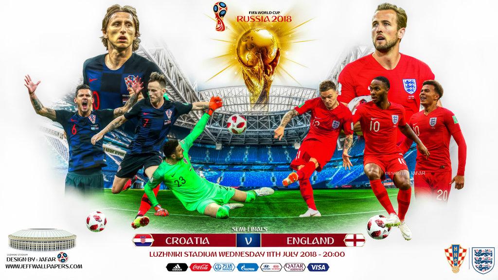 مقایسه عملکرد تیم های ملی فوتبال انگلیس و کرواسی