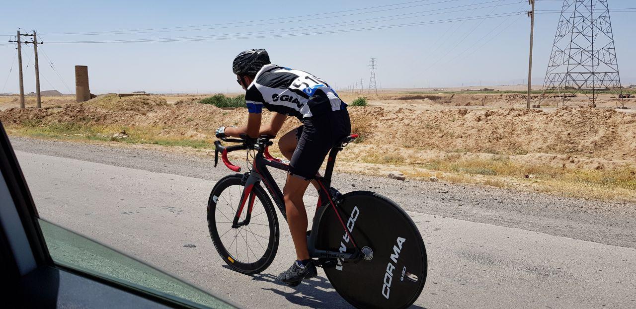 پایان مسابقات دوچرخه سوارى تایم تریل قهرمانى کشور انتخابی تیم ملى در مشهد