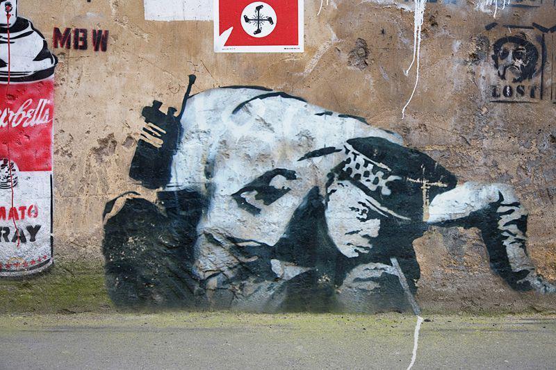 دیوارهایی که روایتگر سرگذشت مردم در انگلستان است+تصاویر