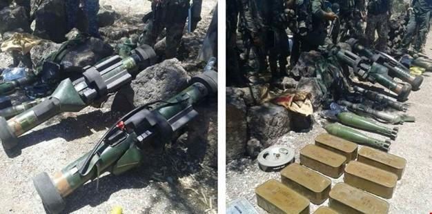 کشف و ضبط سلاحهای مرگبار فرانسوی در درعا+ عکس