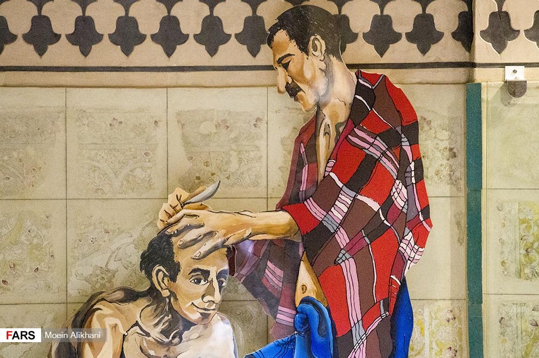 حمامی که توریستها را شگفتزده می کند+ تصاویر