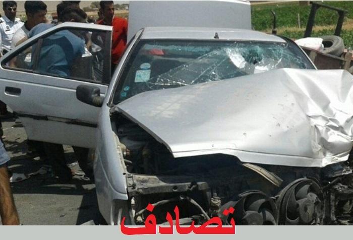 تصادف درگناوه ۲ کشته داشت