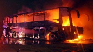 تانکر نفتکش تصادف با اتوبوس مسافربری مربوط به سپاه نیست