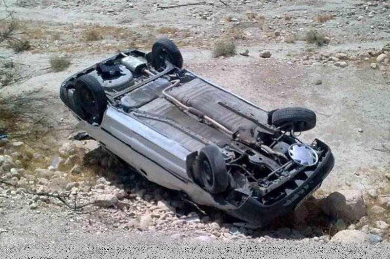 دو کشته و مجروح در واژگونی خودرو پژو