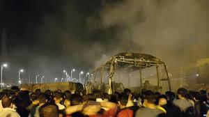 خانواده متوفیان حادثه تلخ در ترمینال سنندج به دادسرای سنندج مراجعه کنند