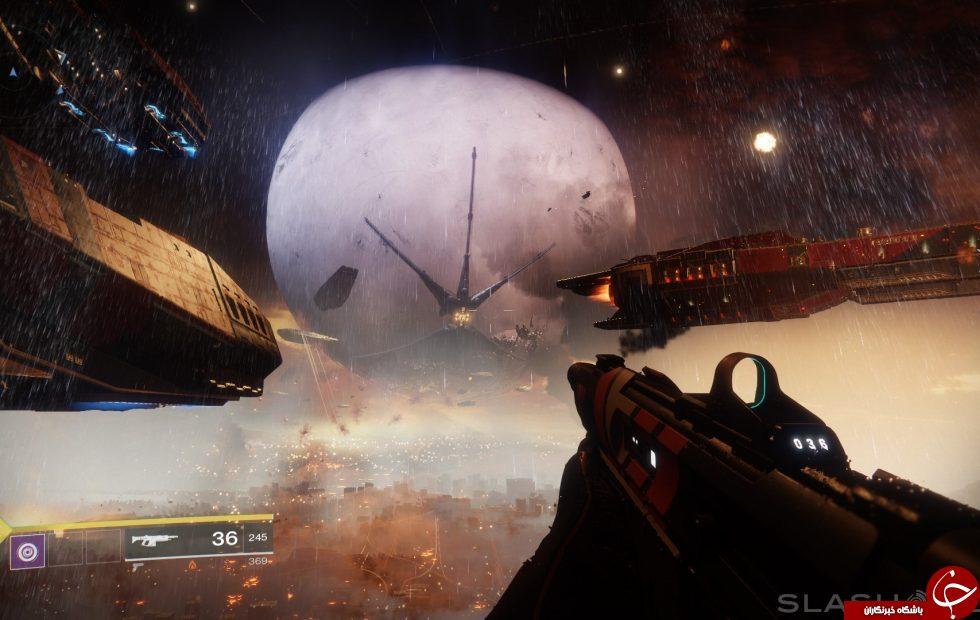 معرفی بازی Destiny 2 +تصاویر
