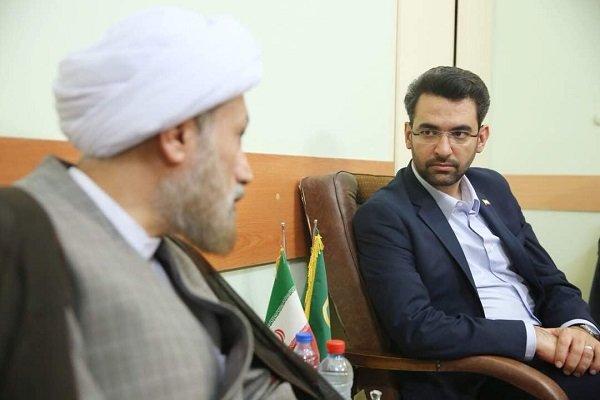 دیدار وزیر ارتباطات و نماینده، ولی فقیه در فارس
