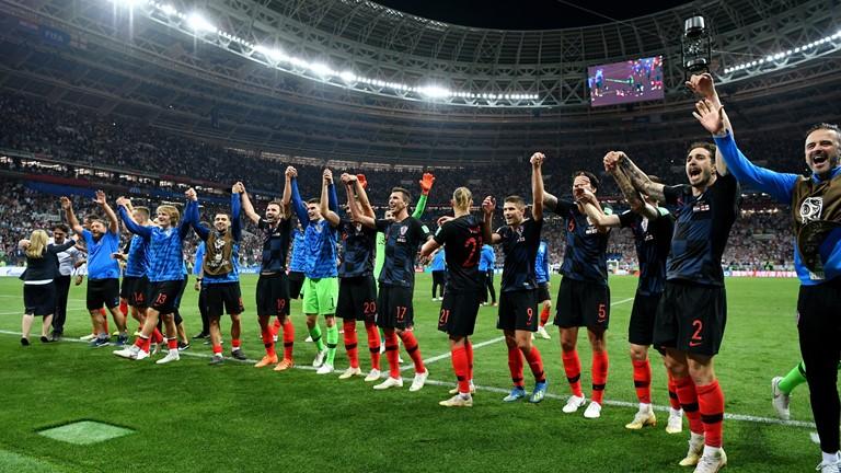 انگلیس 1 - کرواسی 2/فینال جام جهانی بالاخره سهم مردم بالکان شد +فیلم