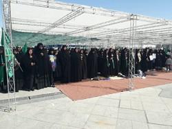 برگزاری اجتماع عظیم بانوان در دفاع از حریم خانواده در مشهد