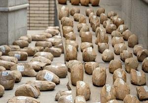 کشف ۲ تن و ۸ کیلوگرم مواد مخدر در درگیری مسلحانه با سوداگران مرگ / ۵ قاچاقچی دستگیر شدند