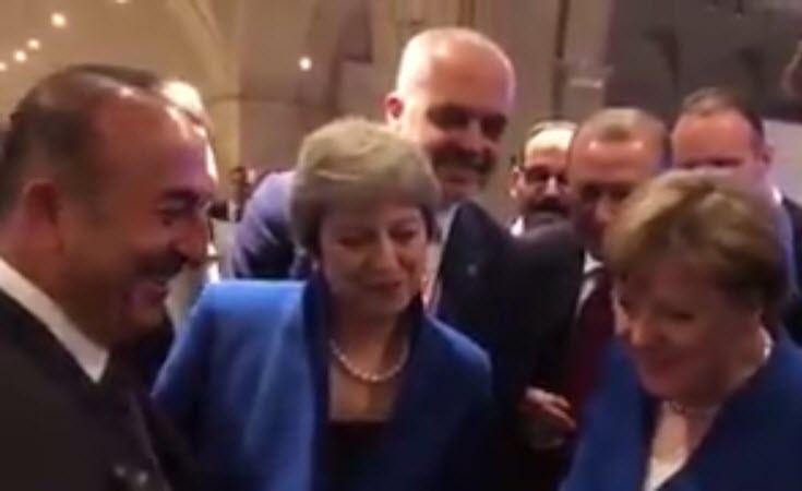 وزیر خارجه ترکیه رو به ترزامی در پایان جلسه ناتو: باختتان را تقصیرما نندازید! +فیلم