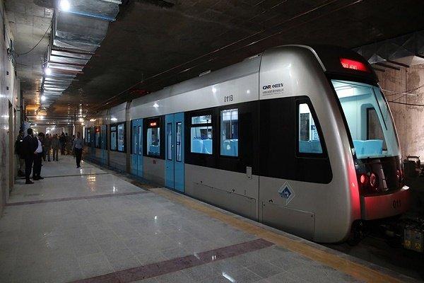 افزایش ساعت سرویسدهی خط دو قطارشهری مشهد