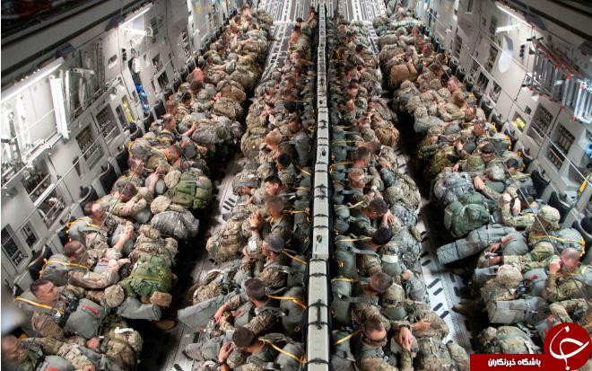 تصاویر روز: از اعزام سربازان گارد ملی تگزاس به لهستان تا پرواز «بچه ترامپ» بر فراز لندن