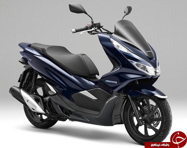 هوندا اولین موتورسیکلت هیبرید خود را معرفی کرد+ تصاویر