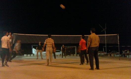 راهاندازی 90 زمین والیبال در روستاهای ریگان