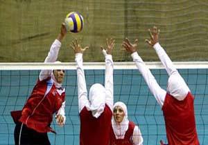 میزبانی شیراز از مسابقات دسته یک والیبال بانوان