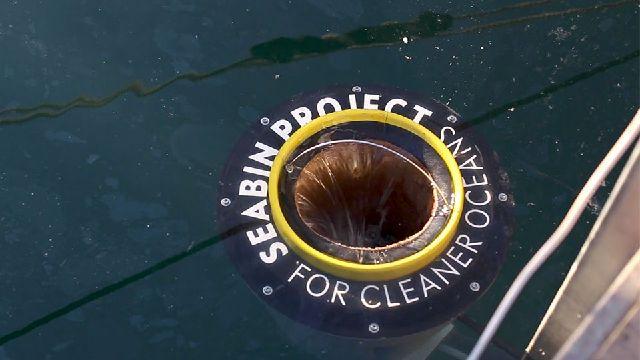 سطل های آشغال شناوری که دریا را تمیز می کنند + فیلم//