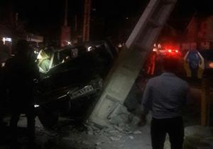 بی احتیاطی در رانندگی حادثه آفرید