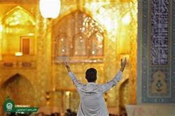 جوان فرانسوی در حرم رضوی به اسلام مشرف شد
