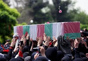 11 شهید سالهای دفاع مقدس در اصفهان تشییع شدند