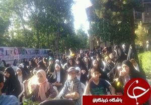 برپایی تجمع دوستداران صیانت از حریم خانواده در قزوین