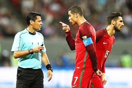 فغانی داور دیدار رده بندی جام جهانی شد