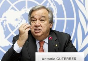 گوترش: تنها راهحل بحران سوریه، راهحل سیاسی است