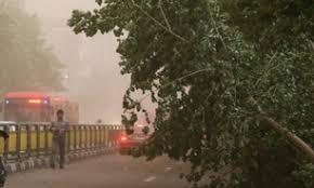 بر اثر حادثه طوفان 8 نفر مصدوم شدند