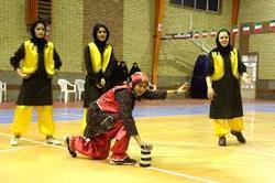 حضور تنها دختر کرمانشاهی در اردوی تیم ملی هفت سنگ
