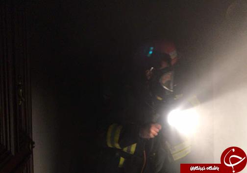 آتش سوزی در منزل مسکونی شیراز