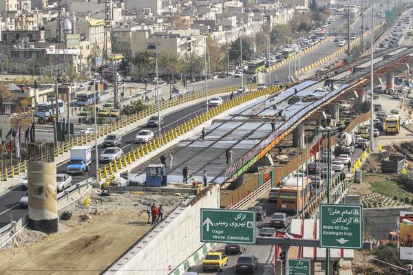 بزرگراه ارتش ورودی اصلی شمال شرق تهران می شود