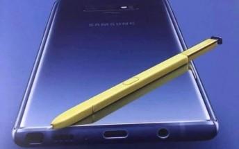تصویر روی جعبه گوشی نوت 9 سامسونگ را ببینید +تصویر