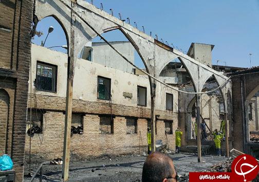 سالم ماندن ۷۰ درصد سازه قاجاری مسجد جامع / مناره دوم در خطر تخریب قرار دارد