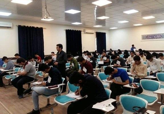 مرحله دوم المپیاد نانو با شرکت ۵۵ دانش آموز در بوشهر برگزار شد