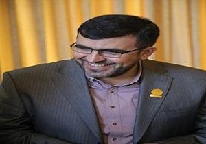نشان شهروندی قم به شهردار نبطیه لبنان اهدا شد