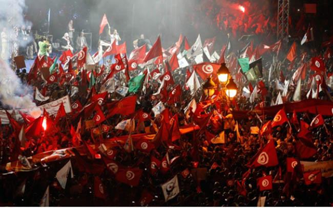 محاکمه عوامل کشتار تظاهرکنندگان در جریان خیزش اسلامی در تونس