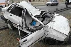 2 کشته درتصادف مرگبار پراید با کامیون پارک شده